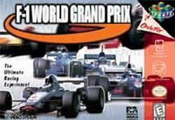 F-1 World Grand Prix (USA) Box Scan